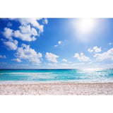 Beach Ocean Summer Seaside Photography Backdrop G-561