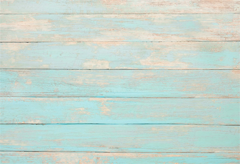 Light Blue Wood Wall Texture Photography Backdrop G-65