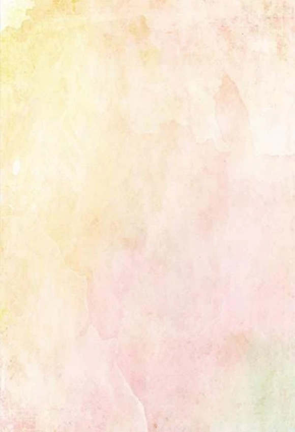 Soft Yellow and Pink Watercolor Backdrop for Photography G24