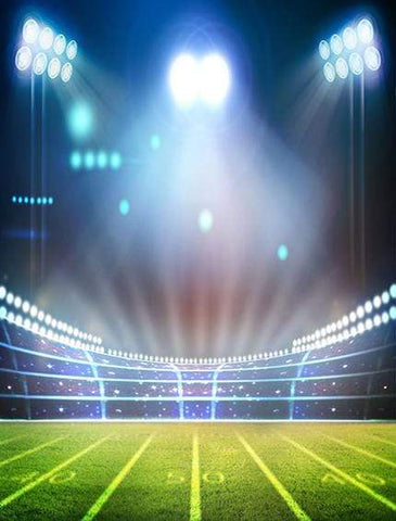 Sport Backdrops Soccer Football Field Photography Backdrop GA-29