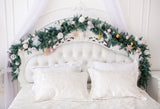 Luxury  Headboard Christmas Decorations Photo Studio Backdrop GA-37