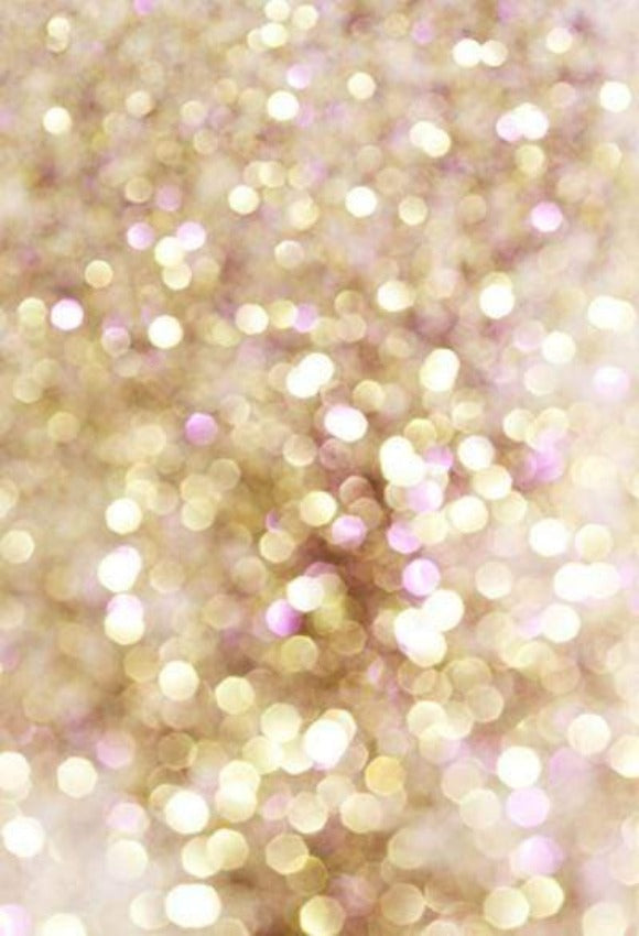 Gold and Purple Abstract Bokeh Lights Photography Backdrop  GC-107