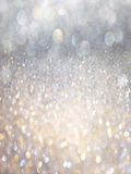 White Silver Abstract Bokeh Lights Photography Backdrop  GC-108