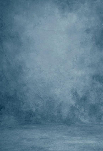 Blue Abstract Texture Portrait Photography Backdrop GC-151