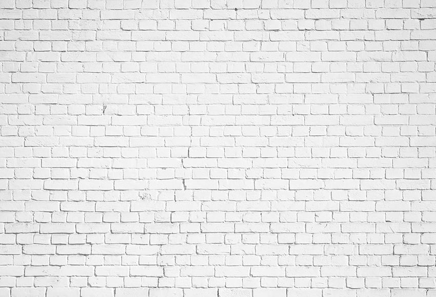 White Brick Wall Backdrop for Photography GX-1030