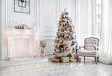 Christmas Room Decoration White Backdrop for Photo Studio GX-1088