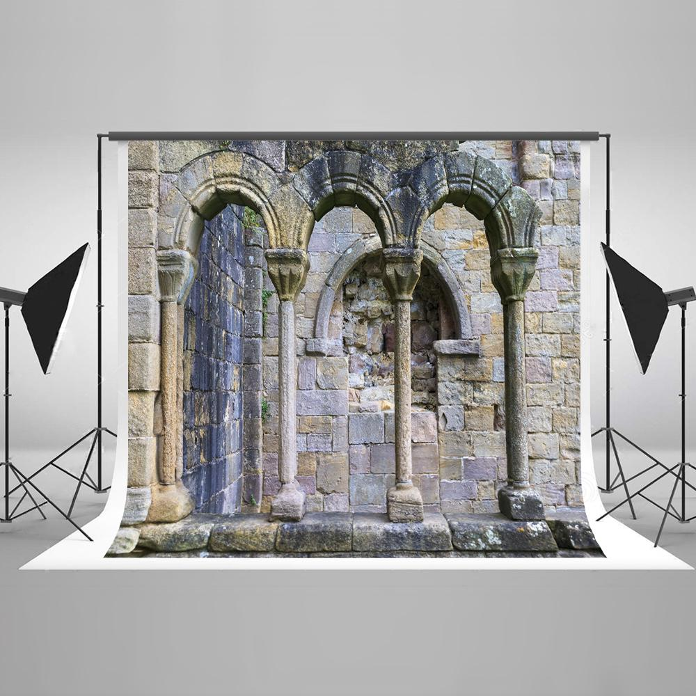 Mystical Stone Arch  Backdrop for Photo Booths HJ03186