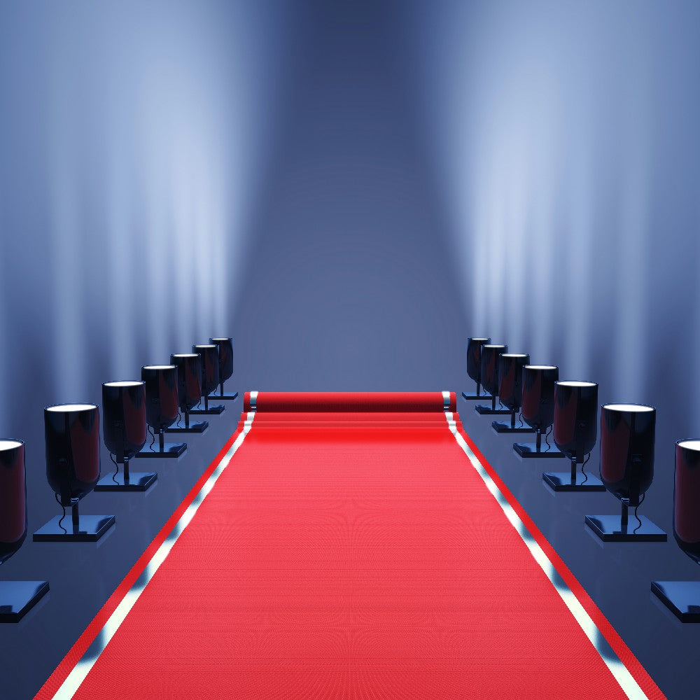 Red Carpet Hollywood Theme Party Photography Backdrops DBD-19432