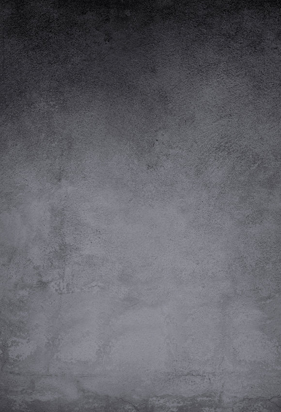 Grunge Black Vintage Concrete Wall Backdrop
