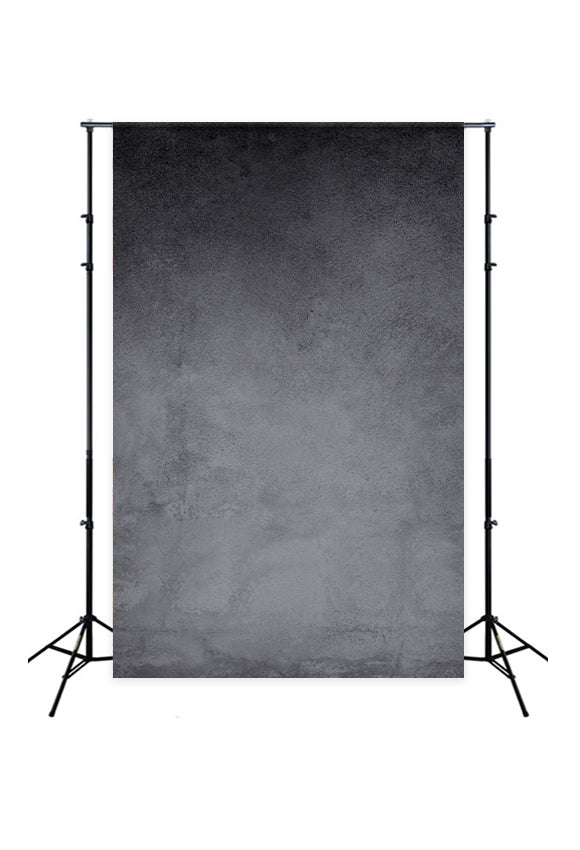 Grunge Black Vintage Concrete Wall Backdrop  J02739