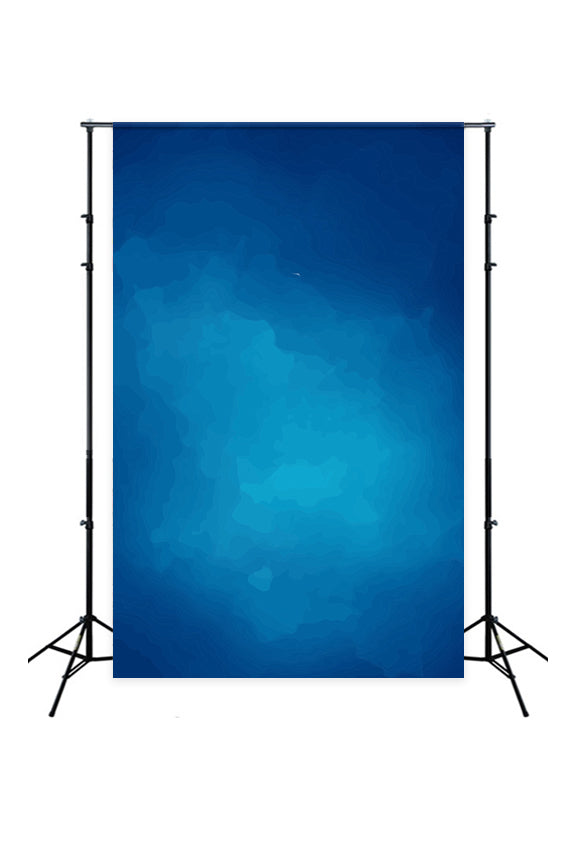 Blue Abstract Textured Backdrop for Photography J02961