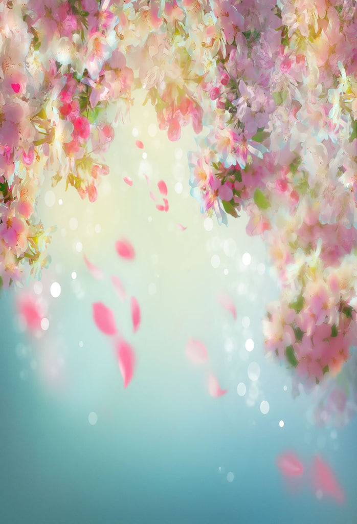 Fantasy Flower Backdrop For Events Photography Background