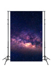Universe Night Sky Star Galaxy Backdrop for Photography J03788