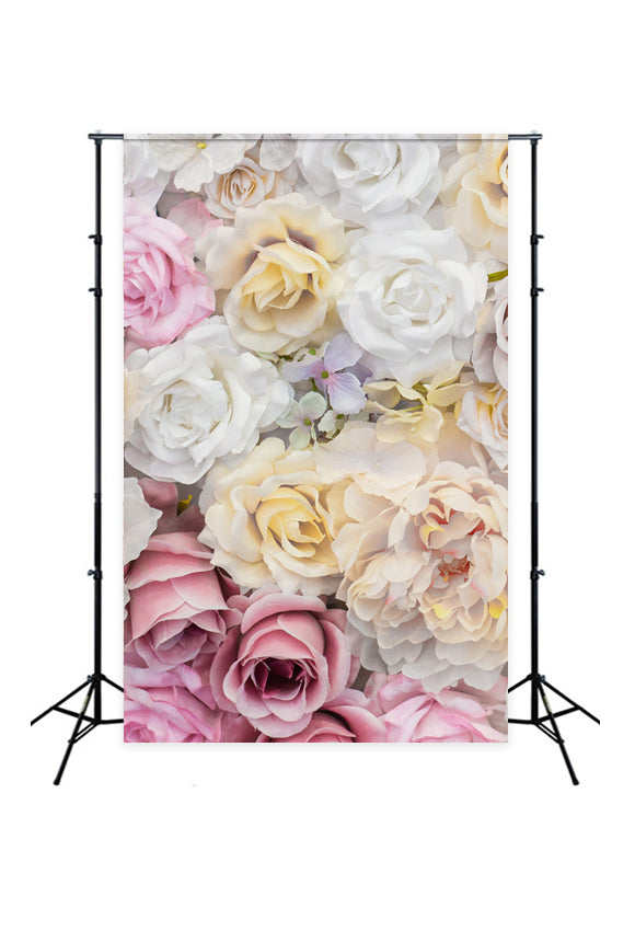 Flower Wall Backdrops for Photography J04082