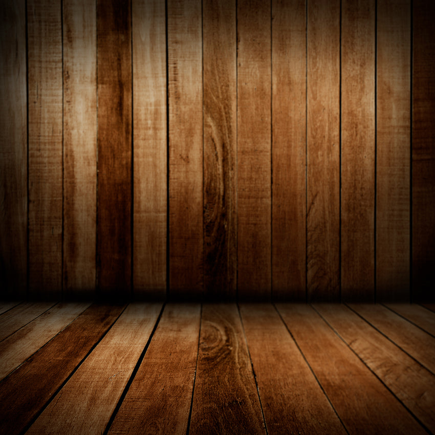 Retro Spell Wood Backdrops for Photo Studio LM-H00159