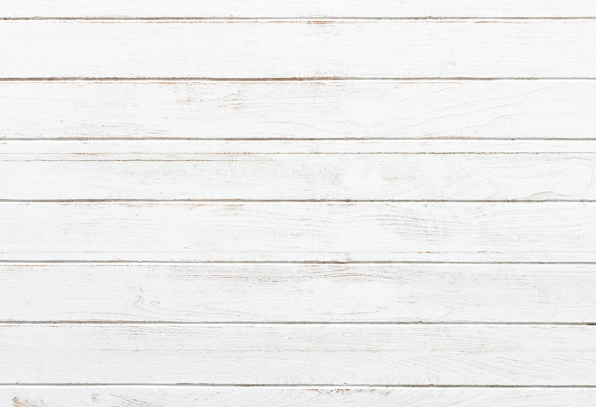 White Vintage Wooden Wall Photography Backdrop LM-H00170