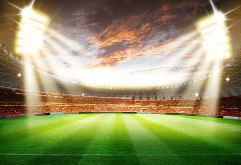 Football Stadium Soccer Photography Backdrop M026