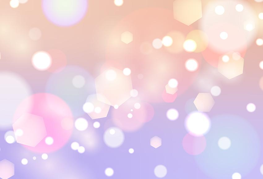 Pink Bokeh Lights Children Photo Booth Backdrop M121