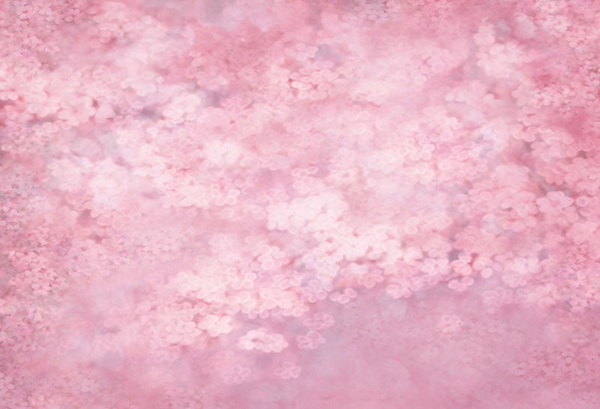 Peach Pink Blurry Floral Backdrop for Photography NB-050