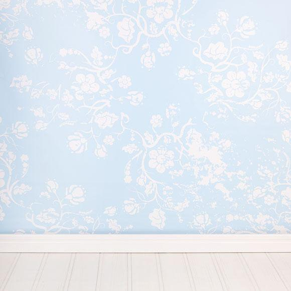 Damask Wall Backdrop for Photography S-2672