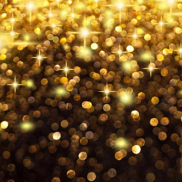 Golden Sparkling Party Photography Backdrops  S-2921