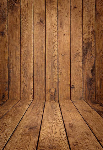Brown Wood Wall Backdrop for Photo Booth