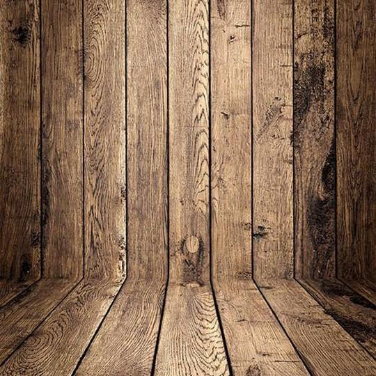 Vintage Brown Wood Wall Photography Backdrop
