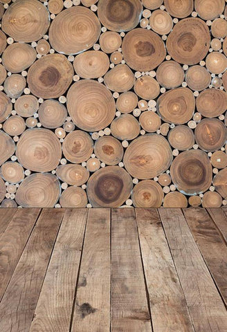 Retro Wooden Texture Photography Backdrop for Studio