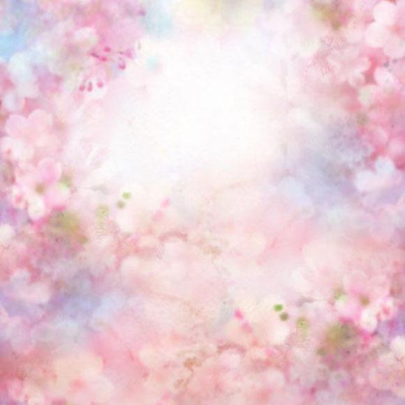 Fantasy Floral Flower Backdrops for Photo Booth S-2976