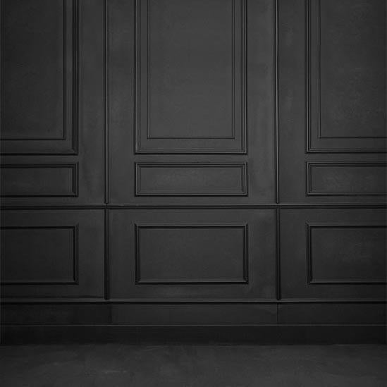 Black Grunge Vintage Door Backdrop For Photo Studio S-3164