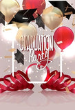 Graduation Decorations Party Banner Photography Backdrop SH-259