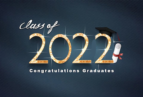 Graduation Banner 2020 Congratulations Graduates Photography Backdrop SH-274