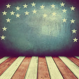 Vintage Wood Independence Day Photography Backdrop SH-281