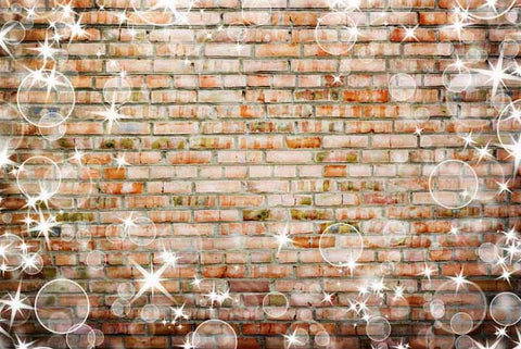 Hubble Brick Wall Photography Backdrop ST-461