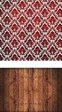 Patterned Backdrops Damask Backdrops Red Background