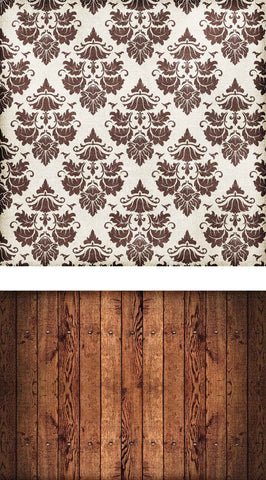 Patterned Backdrops Damask Backdrops Wood Background
