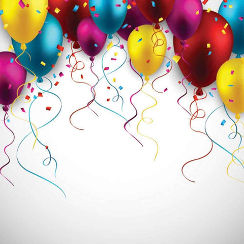 Custom Backdrops Birthday Background Balloon Backdrops YY00098-E