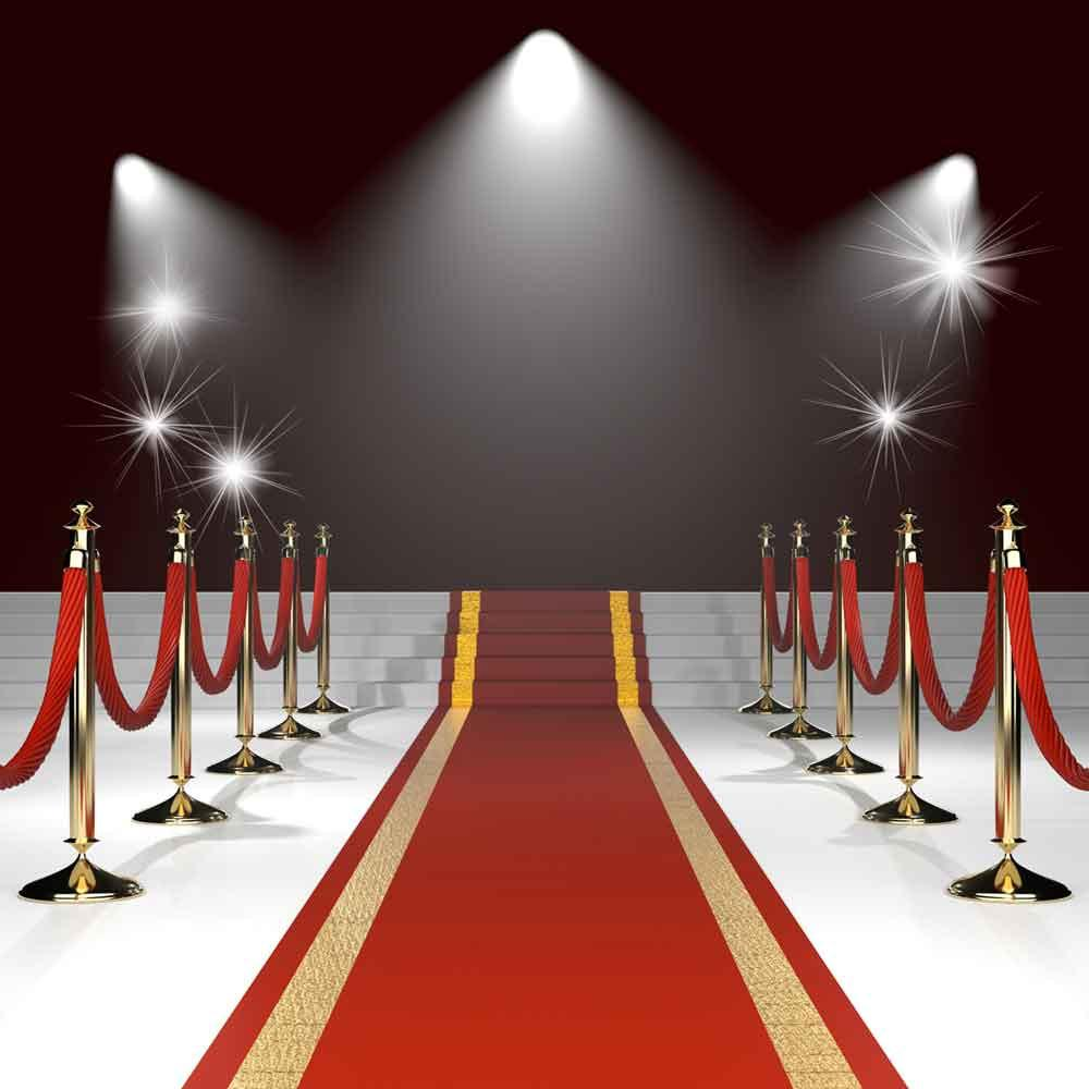 Red Carpet Lighting backdrop for Photo Studio YY00114-E