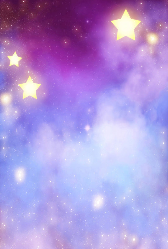 Night Sky Stars Backdrop for Photo Booths ZH-14