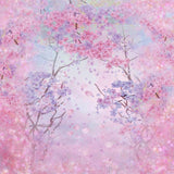Pale Pink Floral Background Cherry Blossom Backdrop for Photography ZH-238
