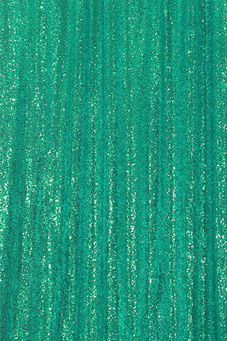 Green Sequin Farbic Backdrop for Party Wedding Decoration D24