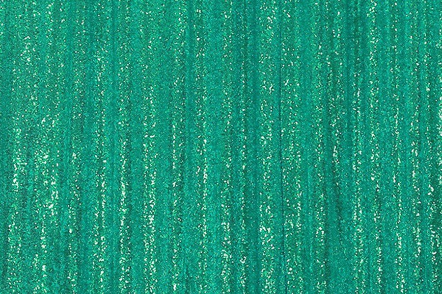 Green Sequin Farbic Backdrop for Party Wedding Decoration D9