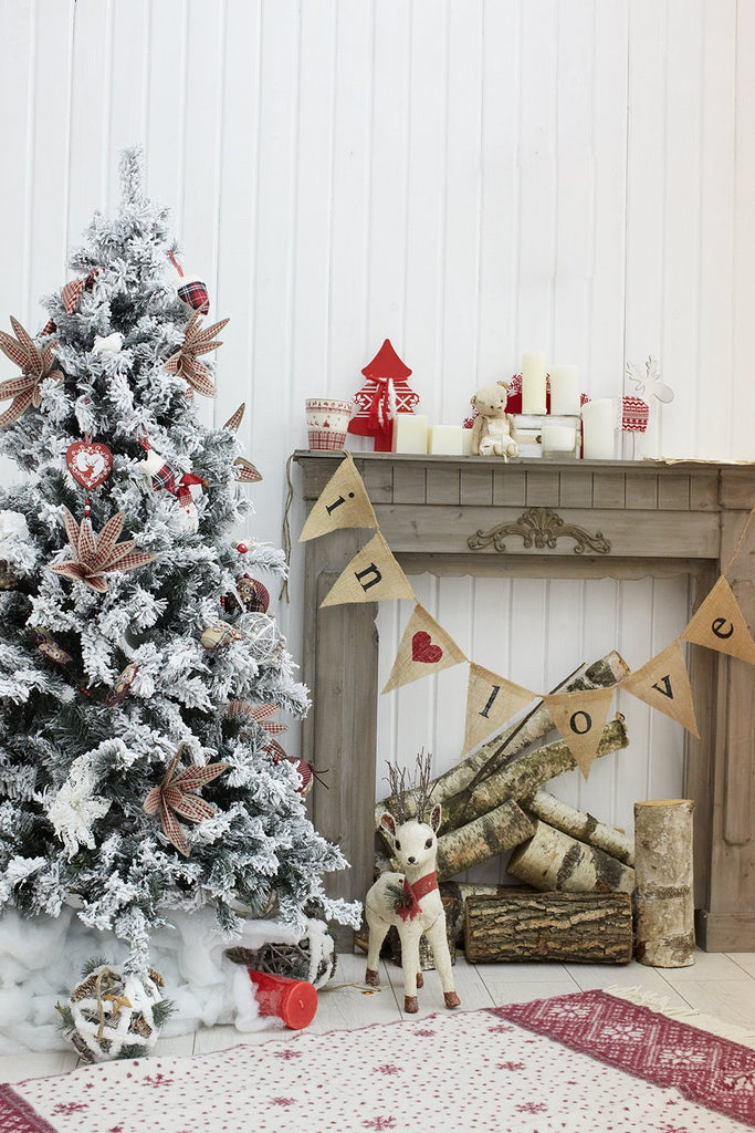 Christmas Indoor Decorations Photography Backdrops DBD-P19187