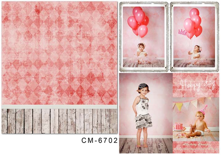 Baby Backdrop Pink Backdrop for Photography CM-6702