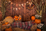 Festival Backdrops Halloween Backdrops Happy Halloween Background Farm Warehouse