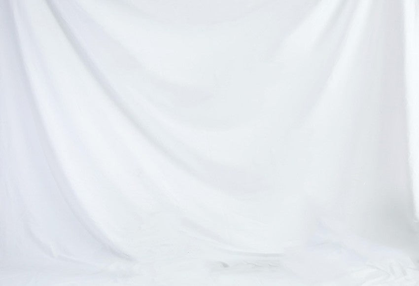 White Solid Color Backdrop for Photography S1