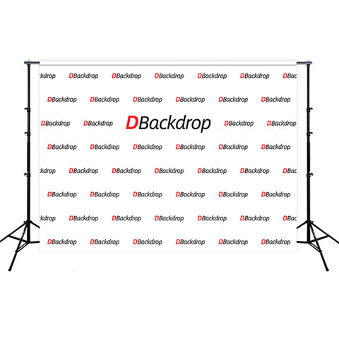 Custom Trade Shows Repeating Logo Backdrop TR2