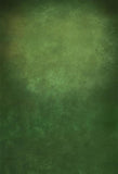 Abstract Senior Green Photography Backdrop  LV-033