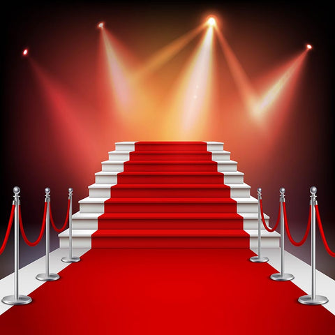 Red Carpet Lighting Stage Backdrops for Photography LV-901