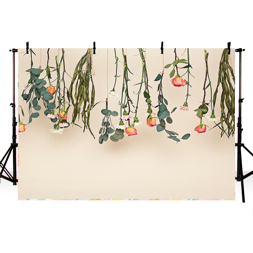Branches Flowers Elegant Backdrops Rattan for Photograpy NB-257